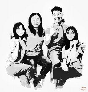 구리 다산 남양주가족사진 마석 평내호평동
