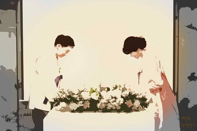 단순화 후처리 이미지 -롯데호텔무궁화작은결혼식출장촬영
